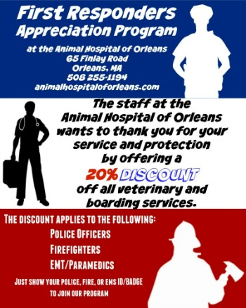First Responders Program 20% OFF